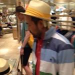 帽子もとてもお似合い!